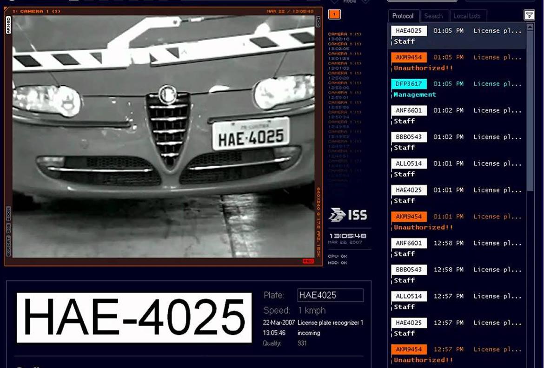 Sistemas de reconhecimento de placas de veículos